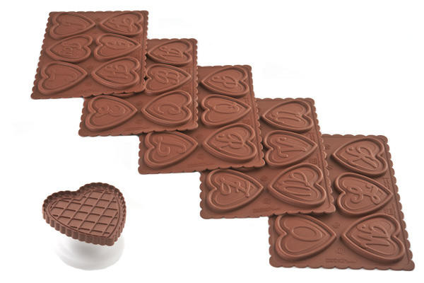 CKC07-8-9-10-11 KIT COOKIE CHOC ABC 73X72 H 5 MM