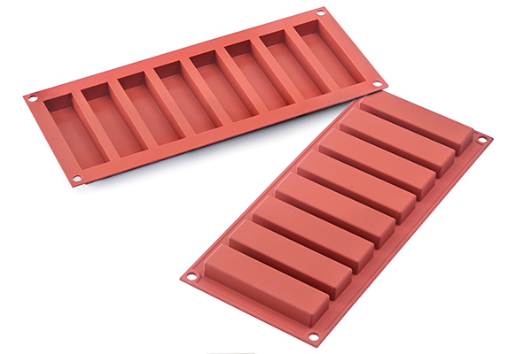SF184 - SLIM BAR - STAMPO IN SILICONE 100X26 H 16 MM