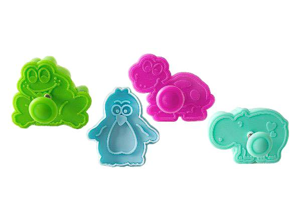 Acc101 Mini Cookie Cutter Funny Animals
