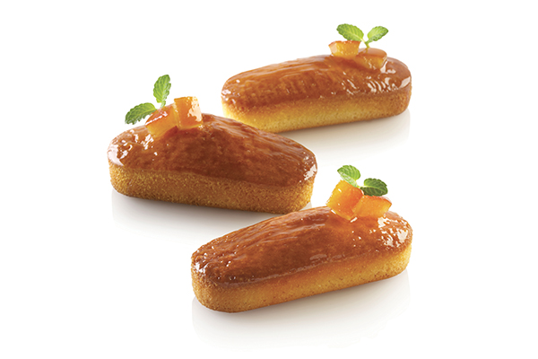 AIR PLUS 03 - SET 4 PZ STAMPO IN SILICONE N.6 MINI PLUM CAKE 40X95 H 25 MM