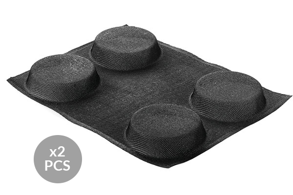 AIR PLUS 12 - SET 2 PZ STAMPO IN SILICONE N.4 ROUND ø120 H 30 MM