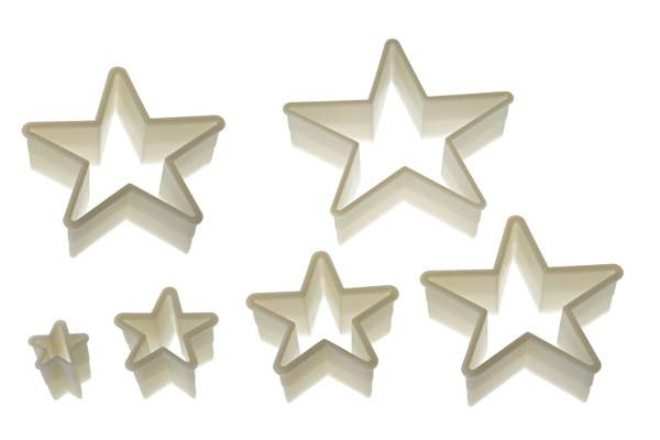 WONDER CAKES CUTTERS 11 IRREGULAR STAR