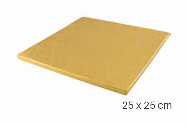 Cake Boards Drums Square 25 x 25 cm
