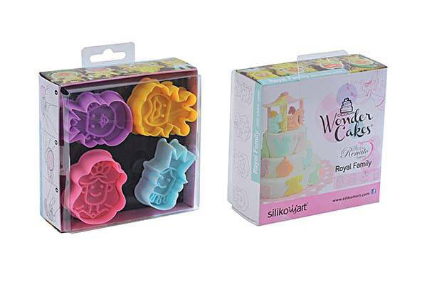 Acc103 Mini Cookie Cutter Royal Family