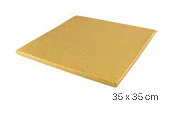 Cake Boards Drums Square 35 x 35 cm